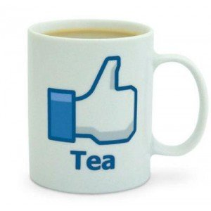 mug facebook like thé