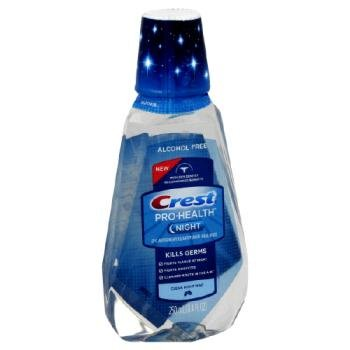 Crest Pro-Health Night Clean Mint Mouthwash Rinse