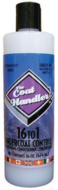 Coat Handler Undercoat Control Conditioner, 16-Ounce (Coat Handlers Conditioner compare prices)