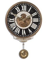 UNC - Home Indoor Furniture and Decor, Wall Clock