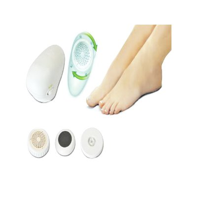 3pc Electric Foot File Dry Hard Skin Remover Pedicure Kit