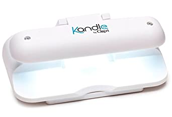 Kandle by Ozeri LED Book Light in White -- Designed for the Amazon Kindle (1st and latest generation), Sony Reader and other eBook readers.