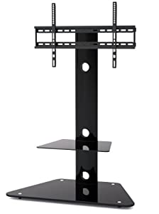 Buying Guide of  1home Cantilever Glass TV Stand