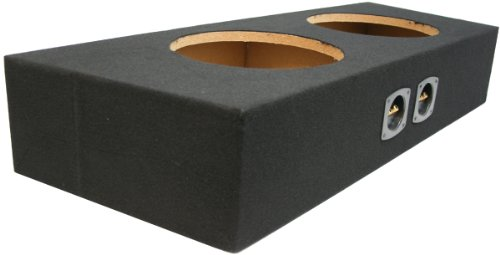"Asc Ford Mustang Convertible 1994-2014 Dual 10"" Subwoofer Custom Fit Sub Box Speaker Enclosure"