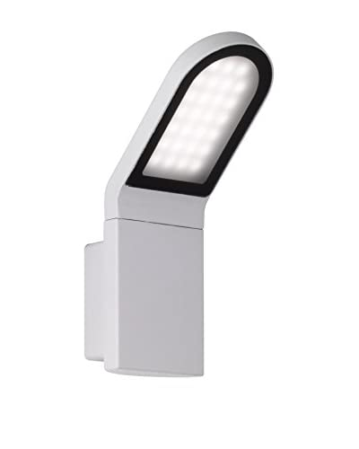 WOFI Lámpara De Pared LED Outdoor Newark Gris Claro