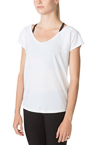 MPG Julianne Hough Women's Melody 2.0 Oversized Tee S Bright White