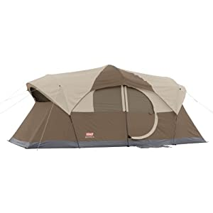 Coleman WeatherMaster 10 Person Hinged Door Tent by Coleman
