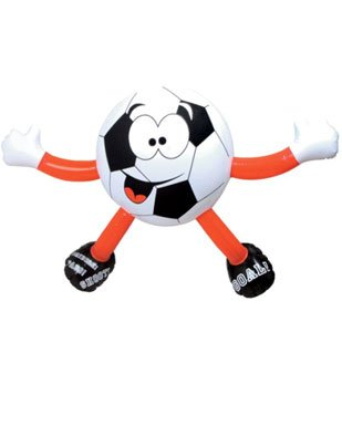 Buy Low Price Rhode Island Novelty Inflatable Soccer Ball Sports Buddy Figure Decoration (B003L1RBRK)