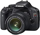 Canon EOS Rebel T2i 18 MP CMOS APS-C Sensor DIGIC 4 Image Processor Full-HD Movie Mode Digital SLR Camera with 3.0-inch LCD and and EF-S 18-55mm f/3.5-5.6 IS Lens