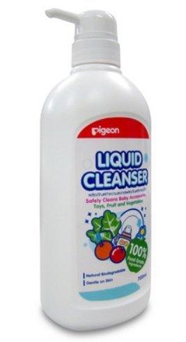 Pigeon Baby Bottle Nipple & Vegetable Liquid Cleanser 100% Food Grade Ingredients 700 Ml front-828112