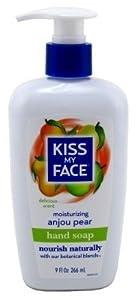 Kiss My Face Skin Nourishing Liquid Moisture Soap, Anjou Pear, 9 oz, 2 Pack