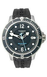 Tissot Seastar Automatic Black Dial Men's watch #T066.407.17.057.00