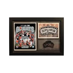 San Antonio Spurs Photo Stat Frame, 12X18-NBA by NBA