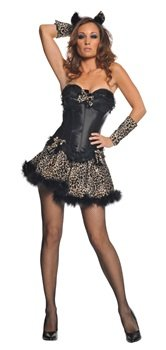 Sexy Leopard Adult Costume Size X-Large 18-20