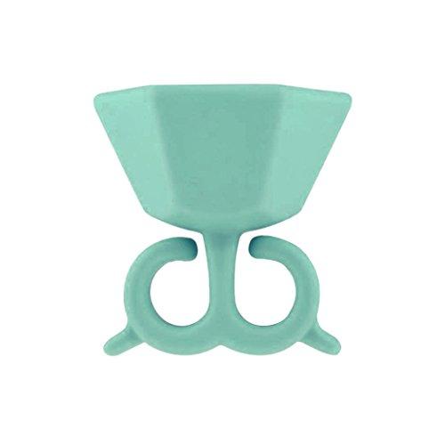 conteverr-nail-art-unghie-smaltate-holder-supporto-in-silicone-anti-sgocciolamento-menta-verde