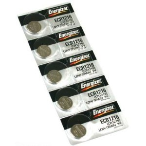 ENERGIZER CR1216 LITHIUM 5 BATTERIES