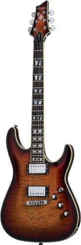 Schecter C-1 Custom Electric Guitar - 3 Tone Sun Burst