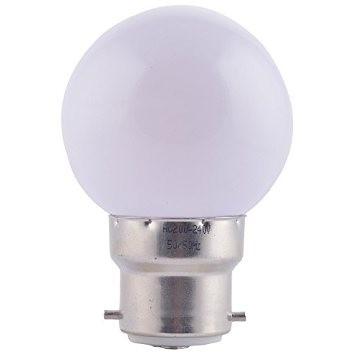 0.5W LED Night Lamp (White, Pack of 6)