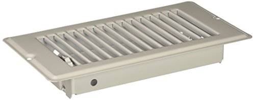 Danco 62069 4-Inch x 8-Inch Steel Floor Register with 1-15/16 Inch Drop , White (Heat Vents compare prices)