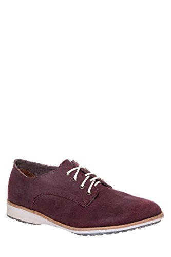 Derby Distressed Canvas Oxford Shoe