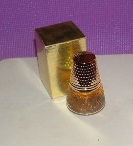 Vintage Avon Golden Thimble Elusive (Chanel Vintage Purse compare prices)