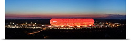 poster-print-entitled-soccer-stadium-lit-up-at-dusk-allianz-arena-munich-bavaria-germany