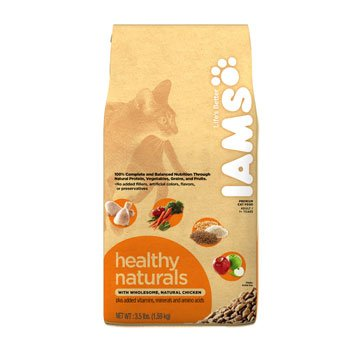 Detail image Iams Healthy Naturals Chicken Formula Adult Cat Food
