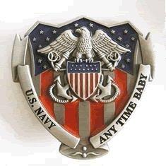 US Navy Pride Belt Buckle