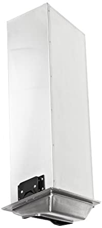 San Jamar H2001SC Satin Chrome Fullfold In Counter Napkin Dispenser
