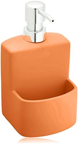 wenko-3620113100-dispenser-per-detersivo-true-colours-festival-arancio-soft-touch-038-l-cercamica-so