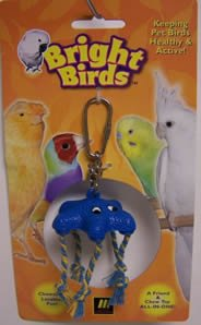 Image of Multi Pet Bright Birds Starfish 6in Small Bird Toy (300-13028)