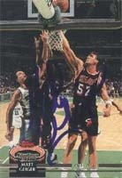 Matt Geiger Miami Heat 1993 Stadium Club Autographed Hand Signed Trading Card. by Hall+of+Fame+Memorabilia