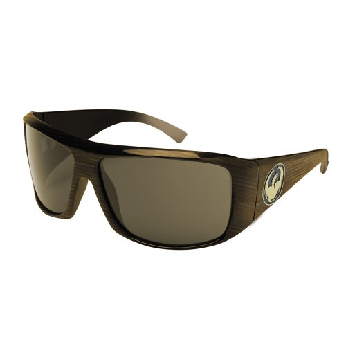 Dragon Alliance Calavera Sunglasses (MochaStripe with Bronze Polar Lens)