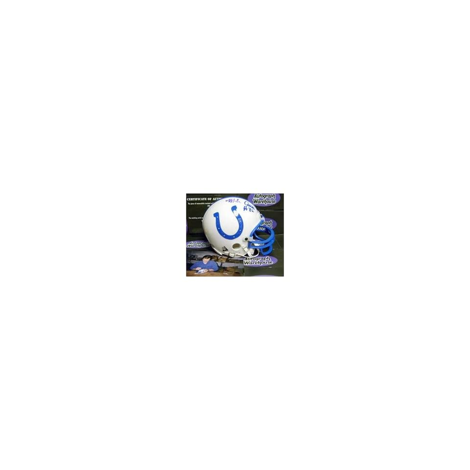 Mike Curtis autographed Indianapolis Colts Mini Helmet