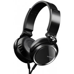 Sony Mdr-Xb600Ip Over-The-Head Extra Bass Headphones, 4 To 24000 Hz Frequency Response, 40Mm Drivers, 40 Ohms Impedance