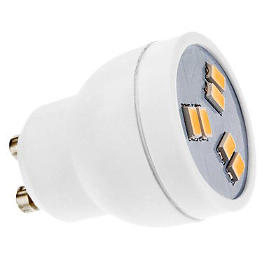 Luo Gu10 2W 6X5630Smd 160-180Lm 3000-3500K Warm White Light Led Spot Bulb (220-240V)