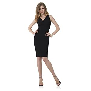Signature Two-Way Stretch: Pleated Sheath Dress