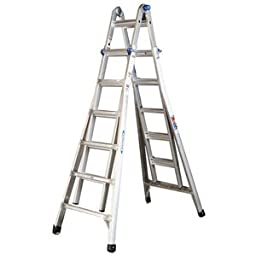Werner MT-26 300-Pound Duty Rating Telescoping Multi-Ladder, 26-Foot
