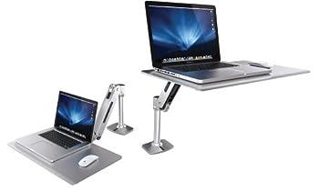 エルゴトロン WorkFit-P、座位-立位両用ワークステーションfor Apple
