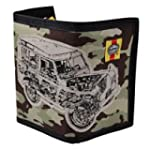 Haynes Land Rover Camo Canvas Wallet