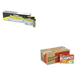 KITEVEEN91PAG36000CT - Value Kit - Bounce Fabric Softener Sheets (PAG36000CT) and Energizer Industrial Alkaline Batteries (EVEEN91)