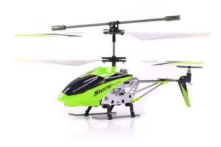 Syma S107G 3 Channel RC Radio Remote Control Helicopter with Gyro -Green