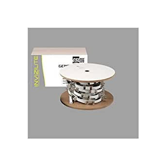 CSL Lighting INV20-6BK Invizilite Generation2 20FT Sockets and Cable Kit, Black Cable with 6IN Spaced Sockets
