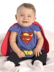 スーパーマン 衣装、コスチューム コスプレ  TypeA ベビー用 NEWBORNサイズ