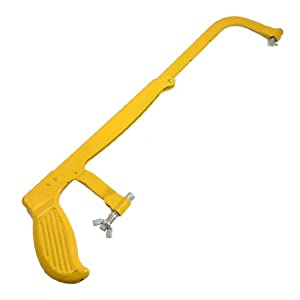 Home Garden Wood Cutting Adjustable Hacksaw Frame Yellow ...