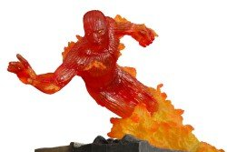 Picture of Diamond Comics Silver Age Fantastic Four Human Torch Medium Statue Figure (B000B8YZZW) (Fantastic Four Action Figures)