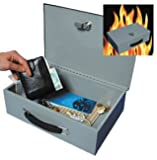 Good Ideas Fire Resistant Security Box / Safe (291) Keep important documents safe