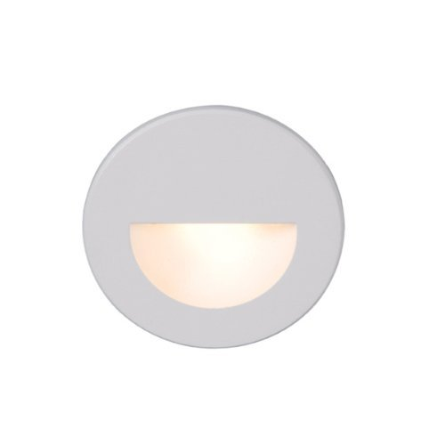 Wac Lighting Wl-Led300-C-Wt Led Step Light Circular Scoop Color: White Outdoor/Garden/Yard Maintenance (Patio & Lawn Upkeep)