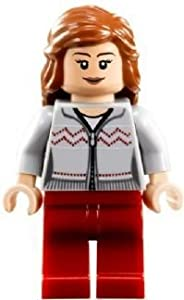 LEGO Harry Potter: Hermione (Grey Shirt, Red Trousers) Minifigure