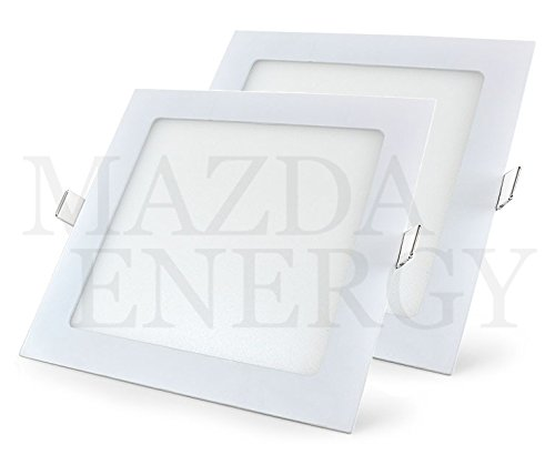 MAZDA ENERGY 18W SQ WH CHE BK 2PC